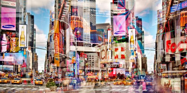 , 'Seventh Avenue (New York, USA),' 2010, Galerie de Bellefeuille