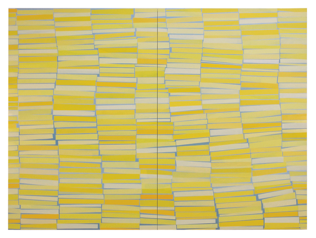 , 'Floating Stacks Yellow,' 2018, Slate Contemporary