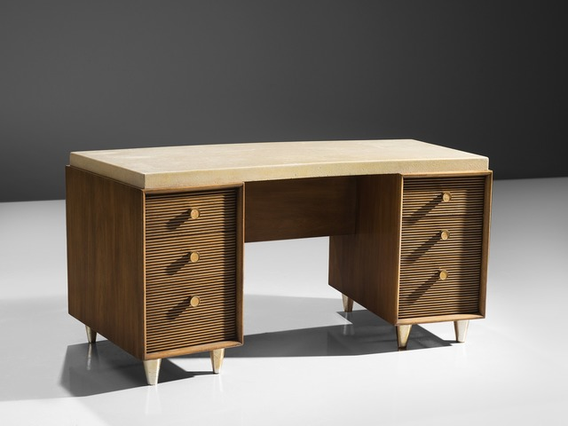 Paul T Frankl Paul T Frankl Cork Desk For Johnson Furniture Company Ca 1950 Available For Sale Artsy