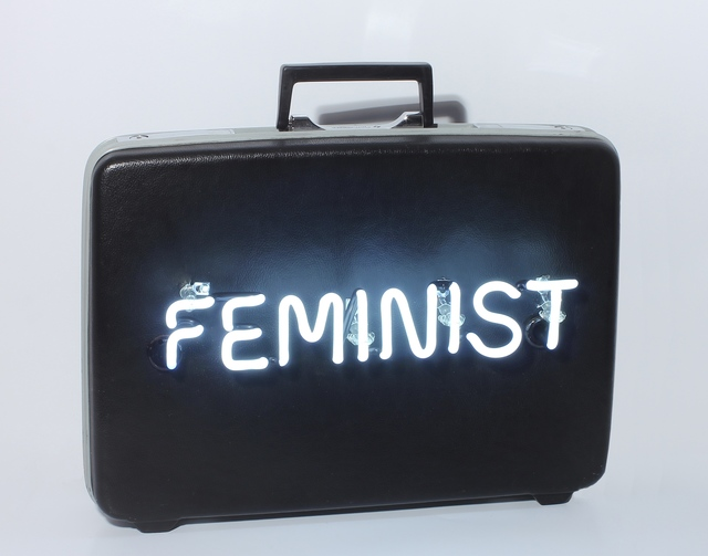 , 'Feminist #1,' 2015, Nancy Hoffman Gallery