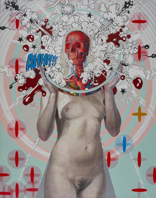 , 'AHHH!!,' 2018, Beinart Gallery