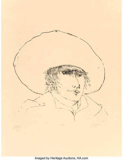 Leonard Baskin, 'Begh', n.d., Heritage Auctions