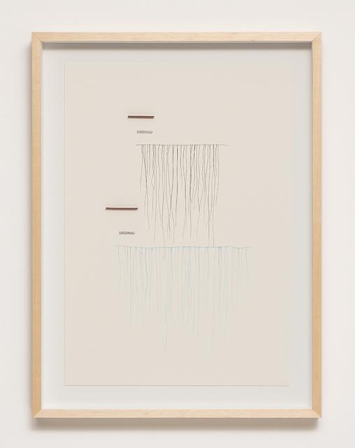 , 'Desenho,' 2012, Galeria Raquel Arnaud