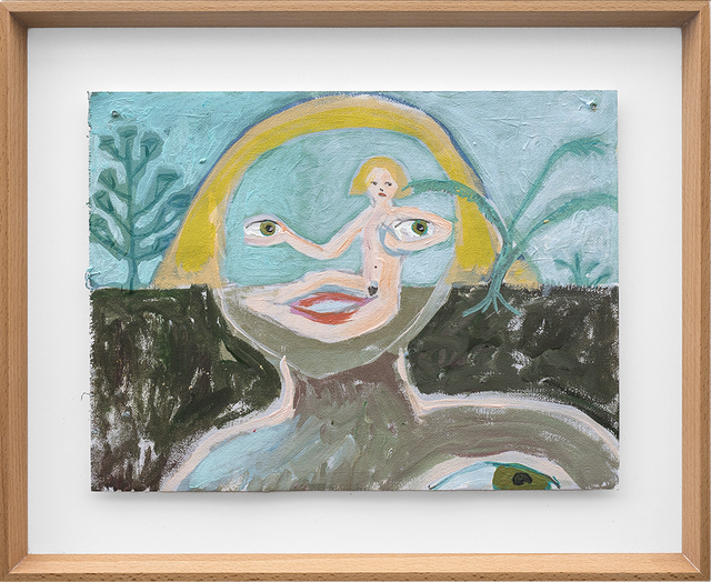 , 'Her eyes on the horizon,' 2018, SMAC