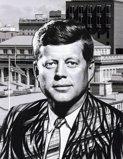 , 'Cross the Party Line: JFK ,' 2017, Artist's Proof