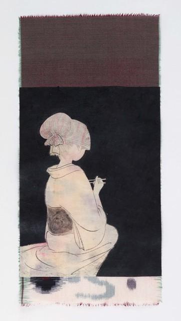 Yamaguchi Ai, 'karuru', 2020, Painting, Japanese paper, cloth, sumi ink, acrylic, Mizuma Art Gallery