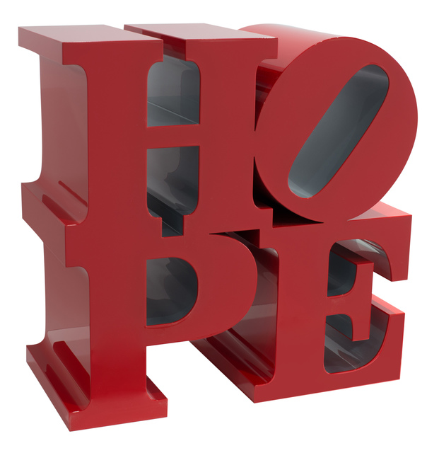 , 'HOPE (Red/Silver),' 2009, Rosenbaum Contemporary
