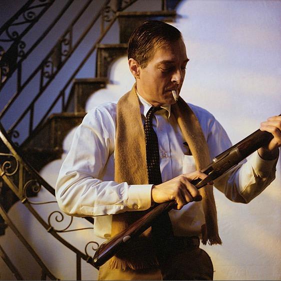 , 'William Eggleston with Gun, Memphis,' 1988, Jackson Fine Art