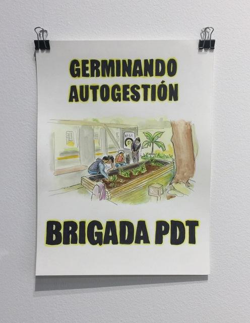 , 'Germinando autogestión,' 2018, Proyectos Ultravioleta