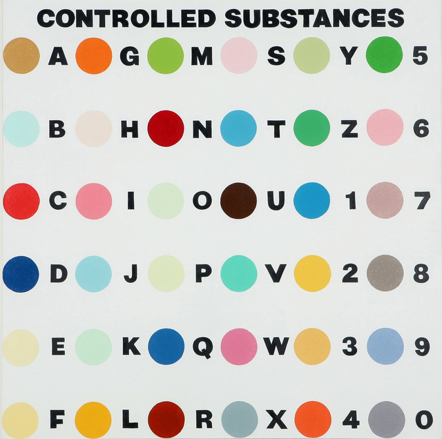 , 'Controlled Substance Key Painting,' 1993-1994, Gana Art