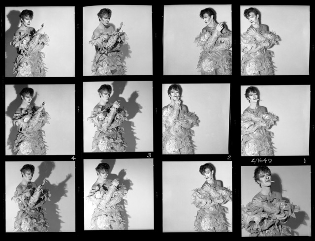 , 'David Bowie: Scary Monsters (& Super Creeps), Contact Sheet,' 1980, Gallery Vassie