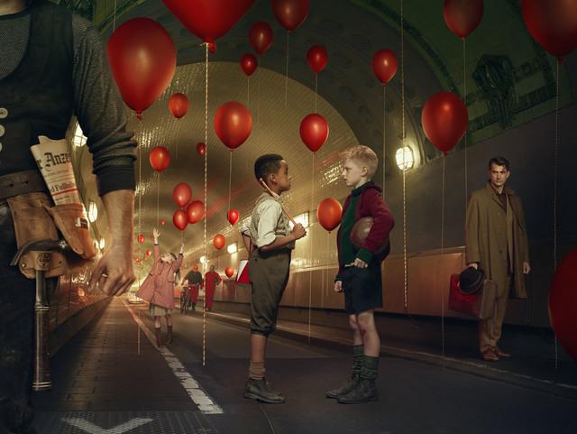 Erwin Olaf, 'Das Wunder von Bern trifft Die Blechtrommel inmitten von 99 Luftballons', 2014, Hamiltons Gallery