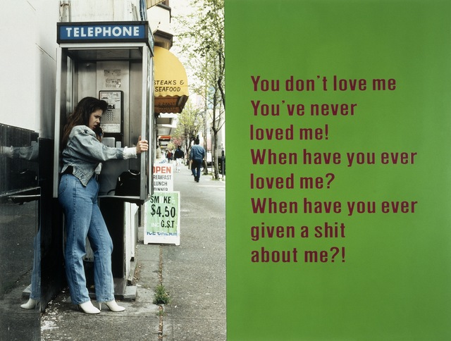 , 'You Don't Love Me,' 1994, Royale Projects
