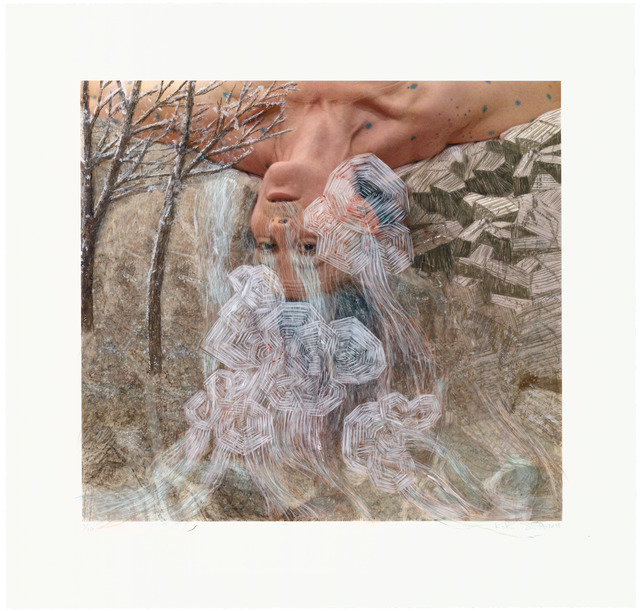 , 'The Falls II,' 2013, Universal Limited Art Editions