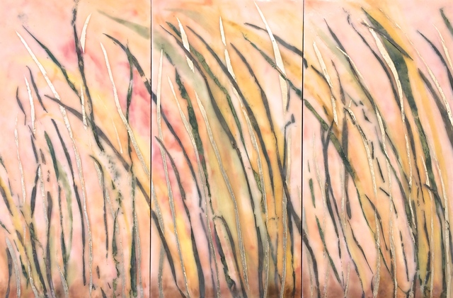 , 'Wind & Grasses (triptych),' ca. 2018, Sara Nightingale Gallery