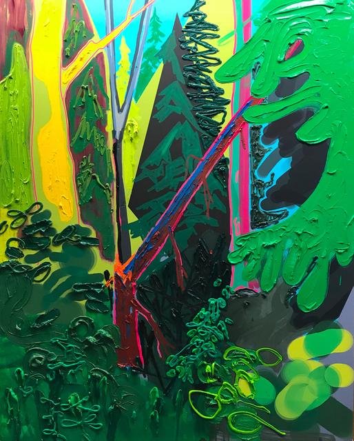 , 'Fallen,' 2017, Galerie Antoine Ertaskiran
