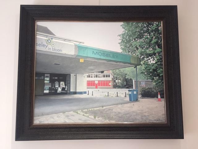 , 'Moseley In Bloom,' 2017, Reuben Colley Fine Art