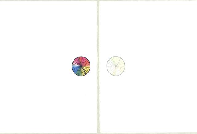 Robert Rauschenberg, 'Re-entry (Diptych)', 1975, Print, Lithograph, ArtWise
