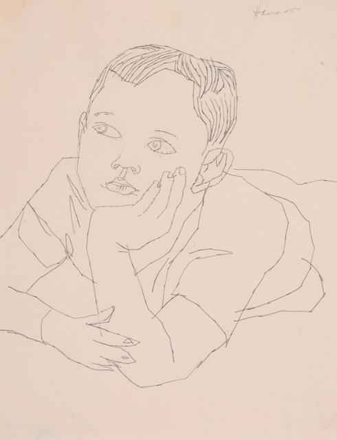 Andy Warhol, 'Boy Upper Torso', Tanya Baxter Contemporary