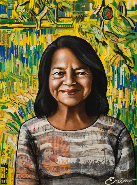, 'Dolores Huerta (As Van Gogh's Gardener) ,' 2018, Blue Rain Gallery