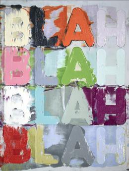 Mel Bochner, 'Blah, Blah, Blah', 2012, Simon Lee Gallery