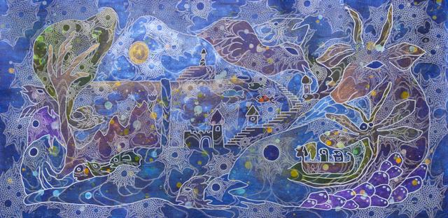 Miki Yokoyama, 'Waterfall', 2019, Disruptive Canvas