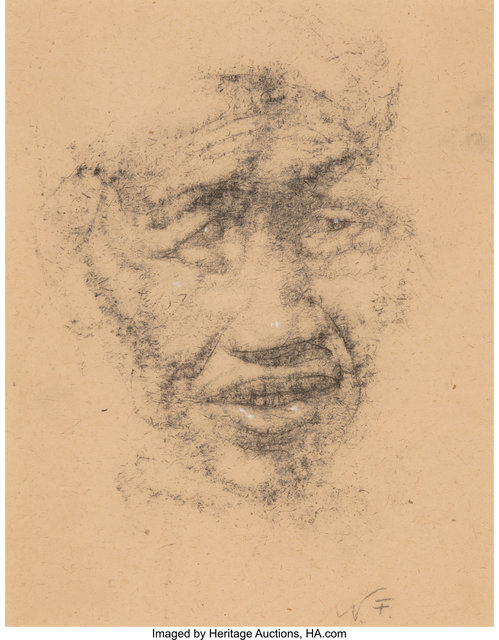 Nicolai Fechin, 'Old Indian Man - Grandfather', Heritage Auctions