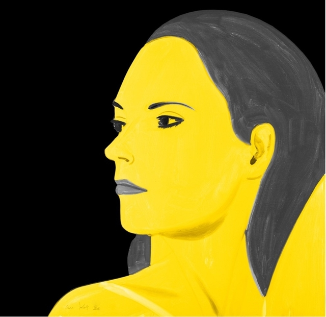 Alex Katz, 'Yellow Laura', 2018, Aurifer AG