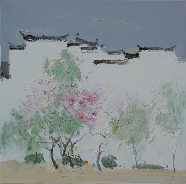 , 'Peach Blossoms, 桃意丹枝,' 2014, Ipreciation
