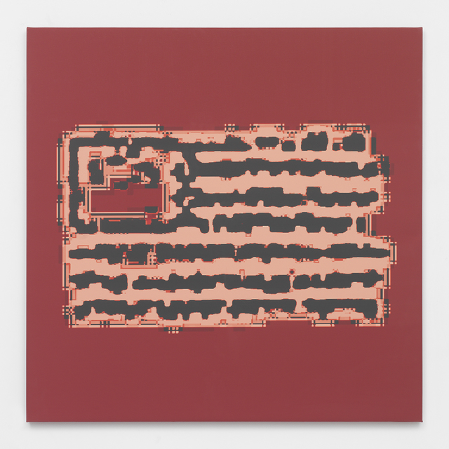 , 'Implanted Chip Flag,' 2014, Feuer/Mesler