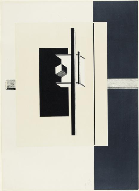 , '1o Kestnermappe Proun [Proun. 1st Kestner Portfolio],' 1923, Whitechapel Gallery
