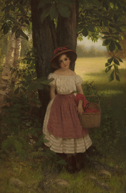 , 'The Berry Picker,' 1864, Godel & Co.
