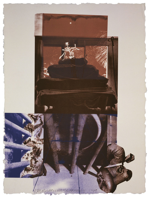 Robert Rauschenberg, 'Rookery Mounds - Night Tork', 1979, Gemini G.E.L.