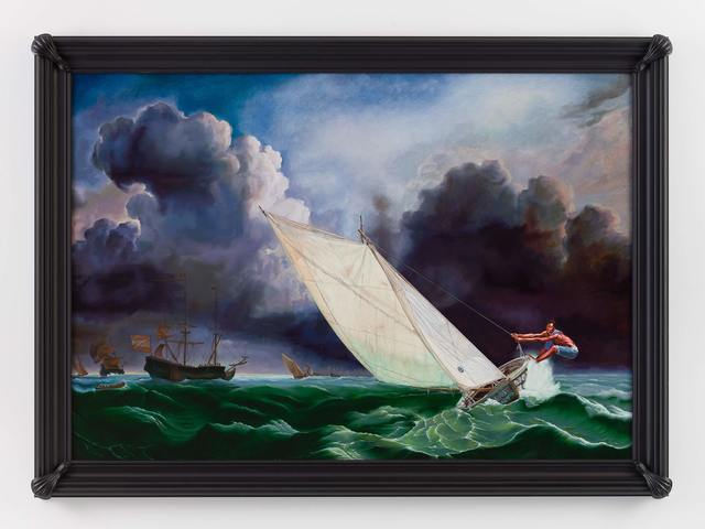 , 'Ships on a Stormy Sea (Jean Julio Placide),' 2017, Stephen Friedman Gallery