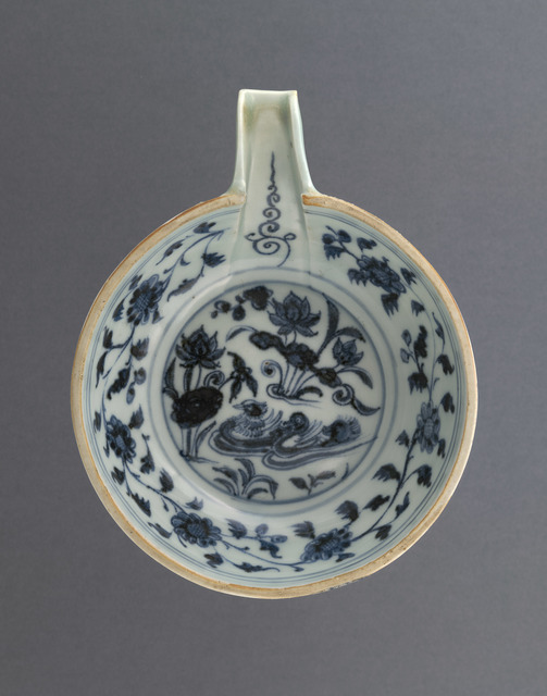 , 'Pouring Bowl,' 14th century, National Gallery of Victoria