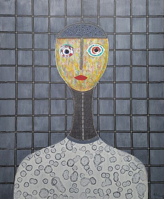 , 'Grid Portrait,' 2017, Bryant Toth Fine Art