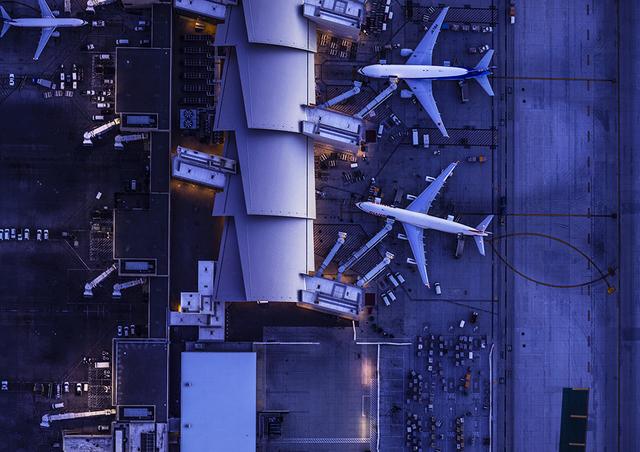 , 'Aerial Views Terminal Border ,' 2014, aQur Gallery