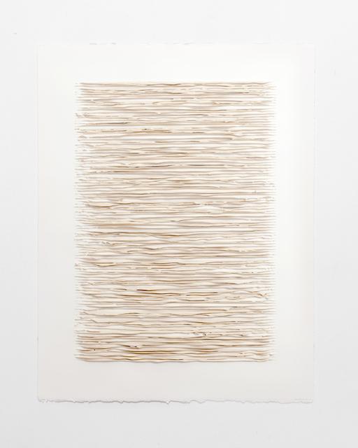 Lars Christensen, 'Color structure #09 (naples yellow red light)', 2019, Anne Mosseri-Marlio Galerie