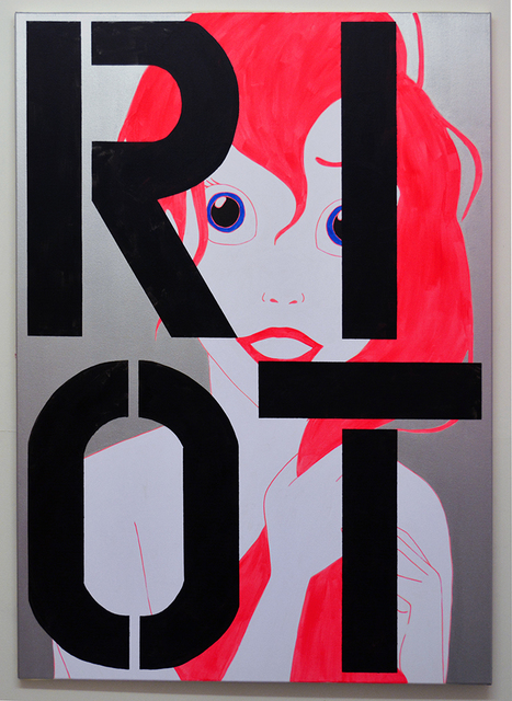 , 'Ariel RIOT,' 2016, Castor Gallery
