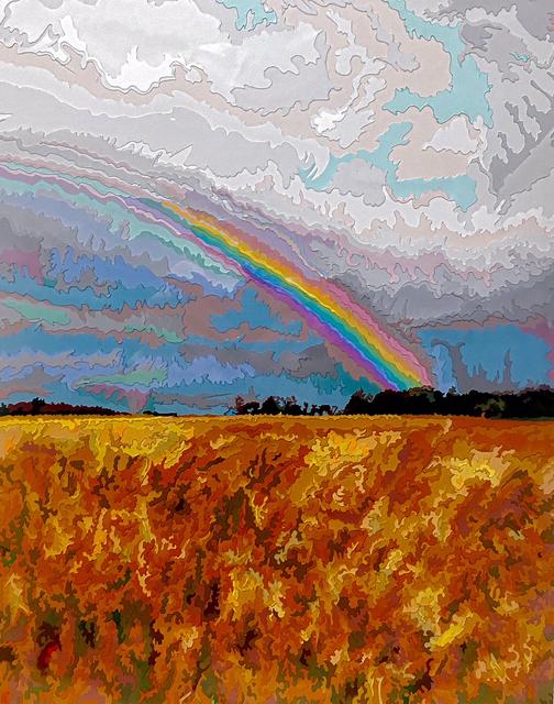 , 'Rainbow,' 2003, Woodward Gallery