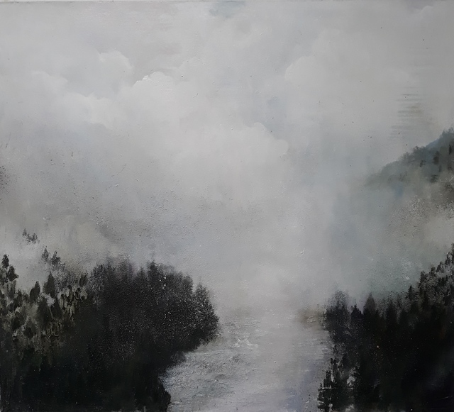 , 'Cold Mountain River,' 2019, Jill George Gallery