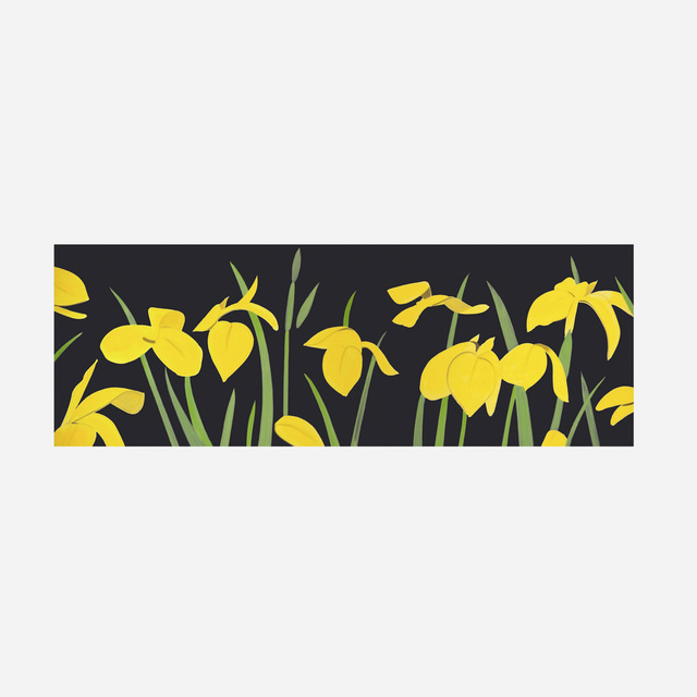 Alex Katz, 'Yellow Flags 2', 2018, Print, Archival pigment inks on Crane Museo Max 365 gsm fine art paper, Artsy x Rago/Wright