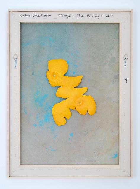 , 'Orange + Blue Painting ,' 2014, Evelyn Yard
