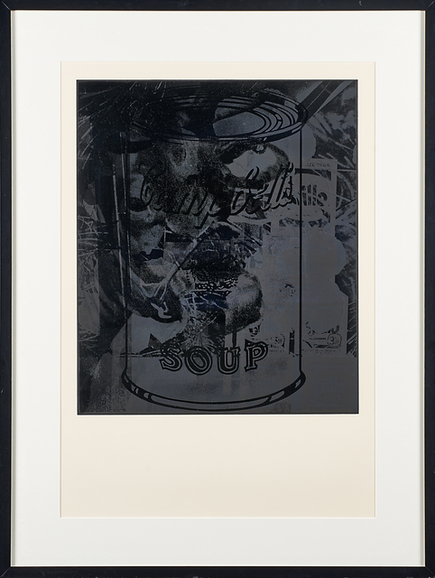 """Andy Warhol, 'Untitled 12 from """"For Meyer Schapiro""""', 1974, Print, Screenprint in colors (framed), Rago/Wright"""