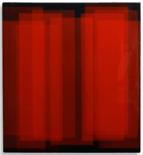 Dirk Salz, '#2538', 2019, Mixed Media, Resinworks / deep dives, pigments and resin on multiplex, Barnard