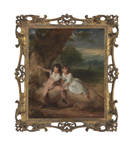 , 'The MacNamara Children, with Windsor Castle beyond,' , Christie's Old Masters