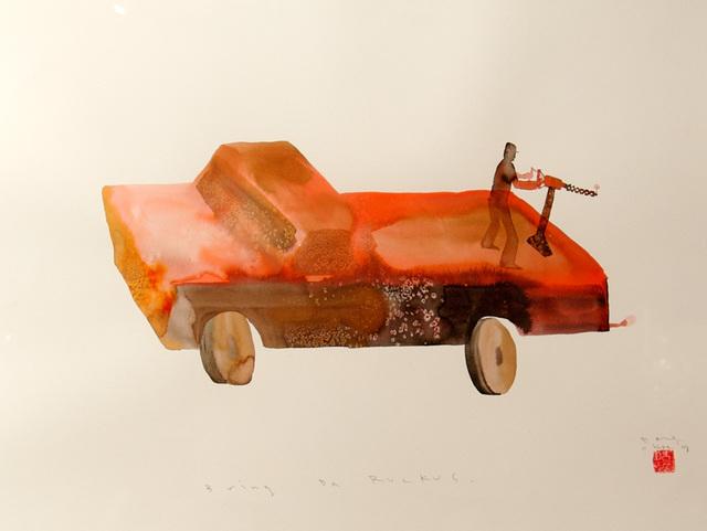 , 'Bring Da Ruckus,' 2008, Lazinc
