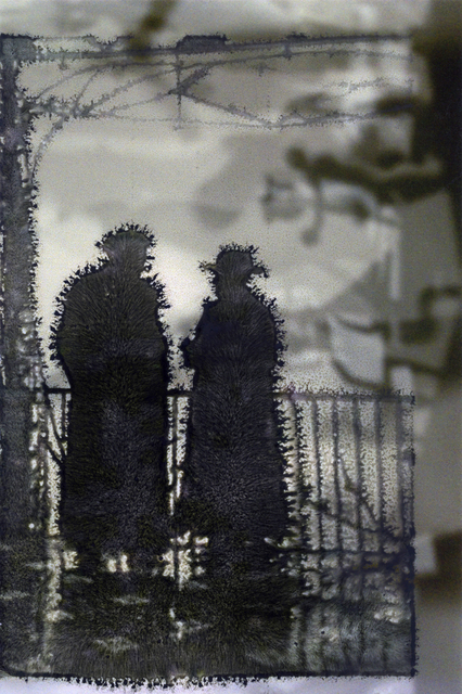 , 'Double Printed Silhouettes ,' 2016, Janet Borden, Inc.