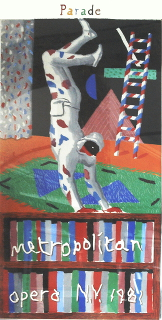 David Hockney, 'Harlequin from Parade', 1981, ArtWise