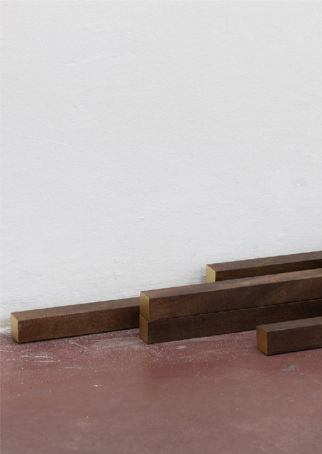 Yan Xing, 'As the Soldiers Went Home, the Gallery Caught Fire', 2019, Sculpture, Mahogany wood, gold leaf, Magazzino
